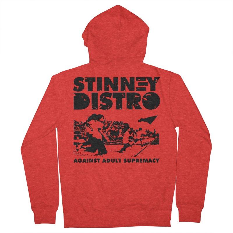 Stinney Distro Women's Zip-Up Hoody by STINNEY DISTRO