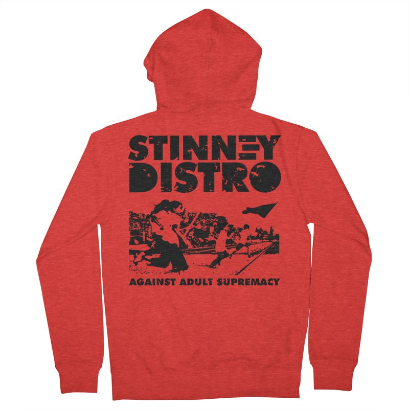 Stinney Distro Men's Zip-Up Hoody by STINNEY DISTRO