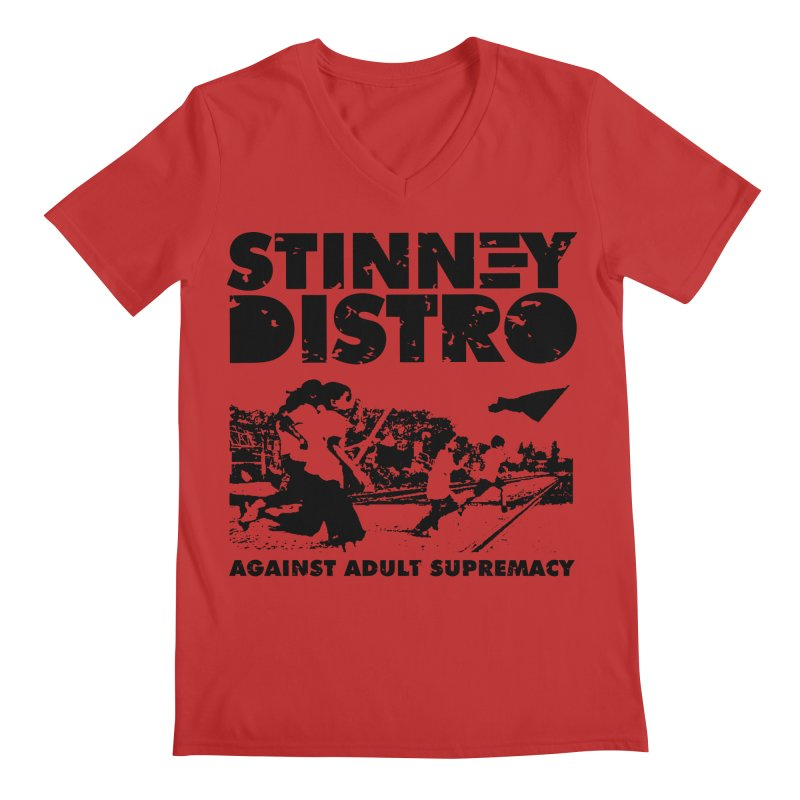 Stinney Distro Men's V-Neck by STINNEY DISTRO