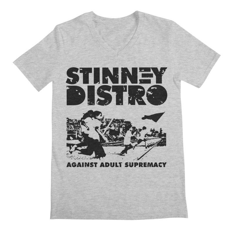 Stinney Distro Men's V-Neck by STINNEY DISTRO