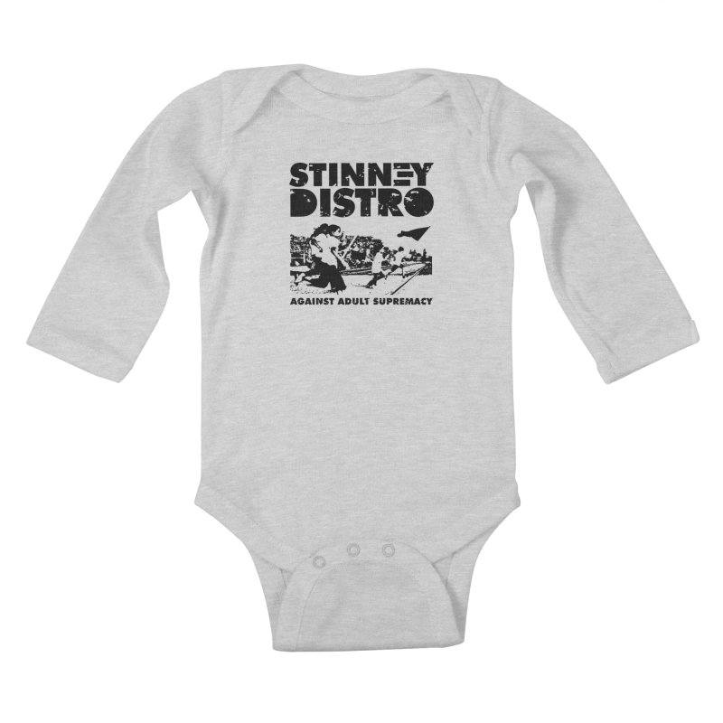 Stinney Distro Kids Baby Longsleeve Bodysuit by STINNEY DISTRO