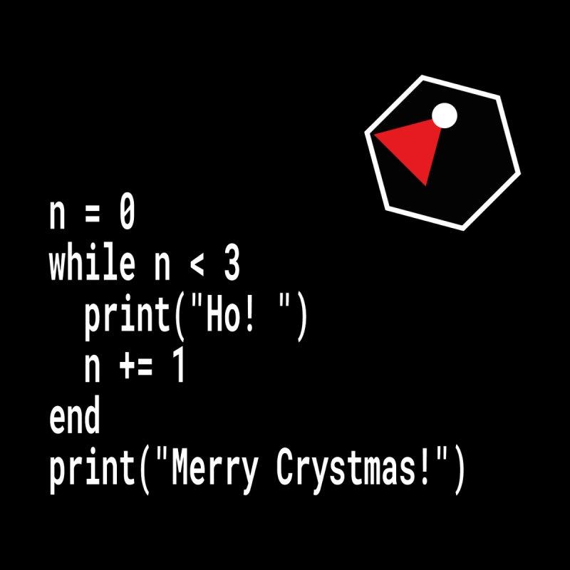 Funny Christmas Xmas Crystal Code -  Ho! Ho! Ho! by stíobhart's shack