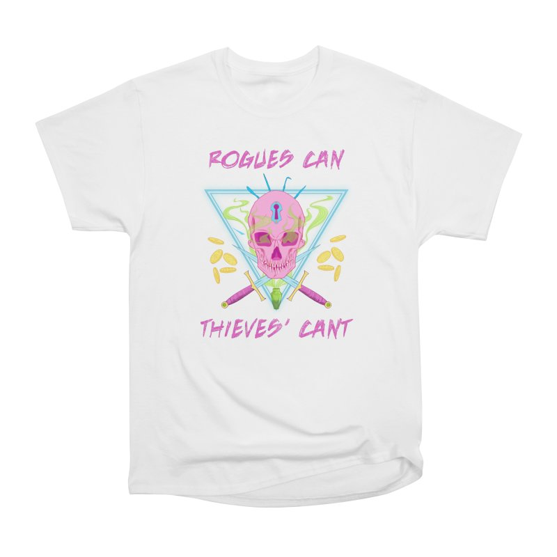 Thieves' Cant - Color Women's Heavyweight Unisex T-Shirt by Stirvino Lady's Artist Shop