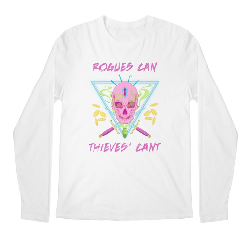 Thieves' Cant - Color Men's Regular Longsleeve T-Shirt by Stirvino Lady's Artist Shop