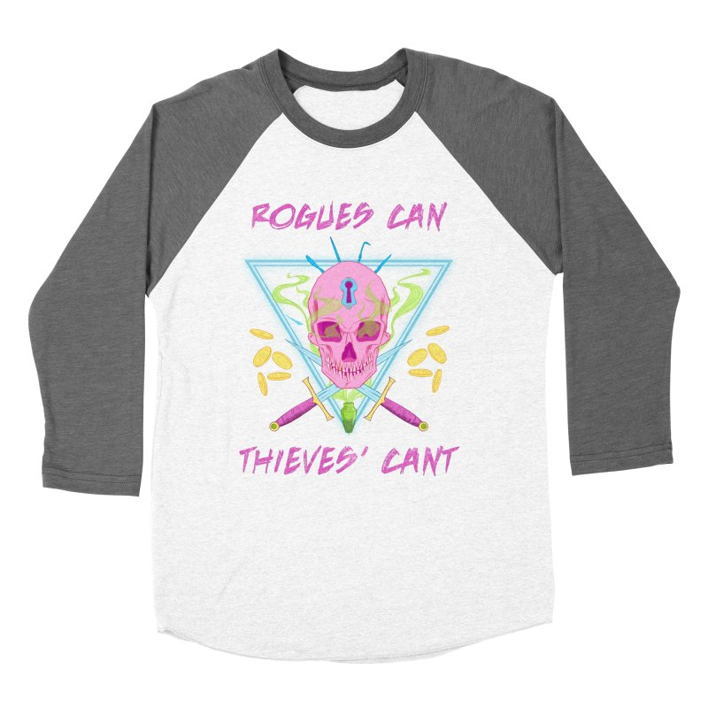 Thieves' Cant - Color Women's Baseball Triblend T-Shirt by Stirvino Lady's Artist Shop