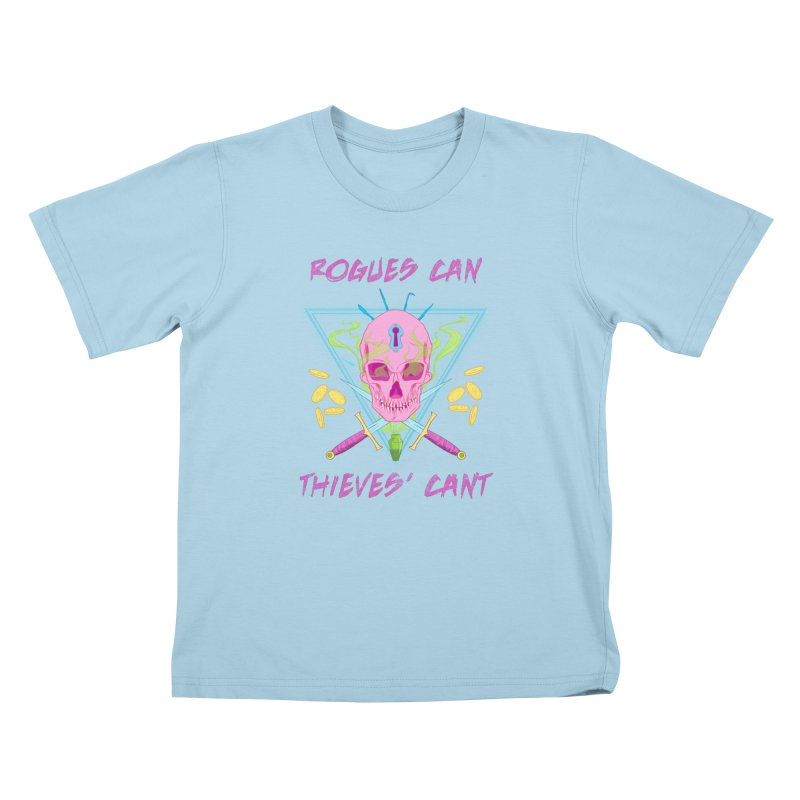 Thieves' Cant - Color Kids T-Shirt by Stirvino Lady's Artist Shop