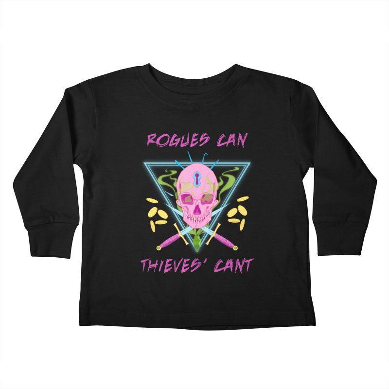 Thieves' Cant - Color Kids Toddler Longsleeve T-Shirt by Stirvino Lady's Artist Shop