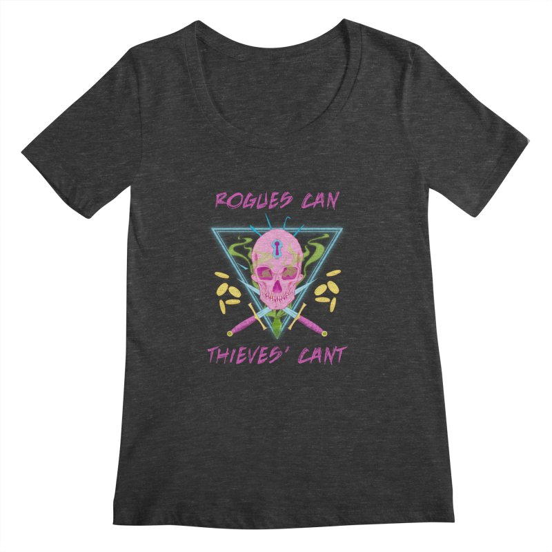 Thieves' Cant - Color Women's Scoopneck by Stirvino Lady's Artist Shop