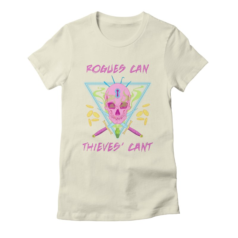 Thieves' Cant - Color Women's Fitted T-Shirt by Stirvino Lady's Artist Shop