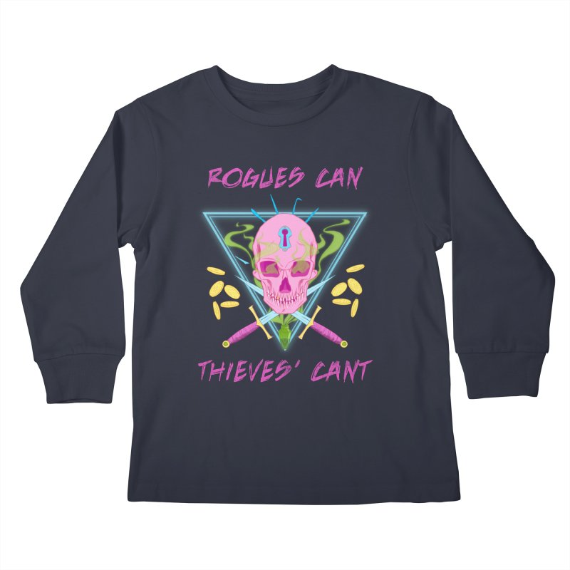 Thieves' Cant - Color Kids Longsleeve T-Shirt by Stirvino Lady's Artist Shop