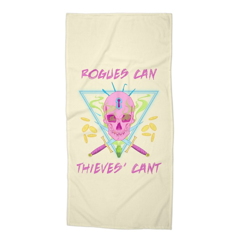 Thieves' Cant - Color Accessories Beach Towel by Stirvino Lady's Artist Shop