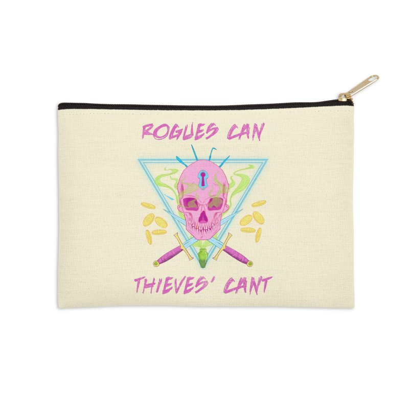 Thieves' Cant - Color Accessories Zip Pouch by Stirvino Lady's Artist Shop
