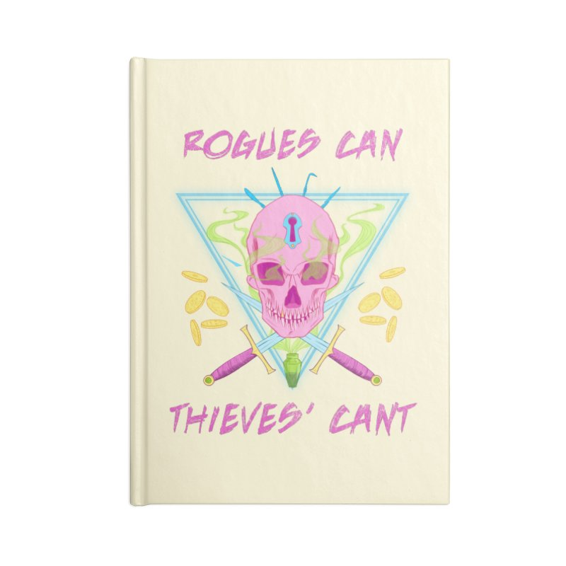 Thieves' Cant - Color Accessories Lined Journal Notebook by Stirvino Lady's Artist Shop