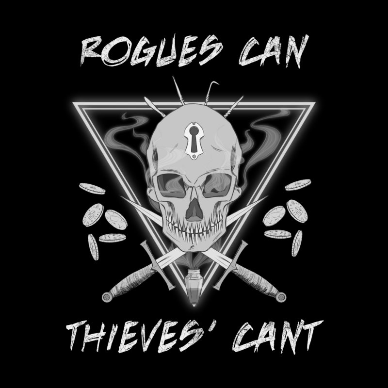 Thieves' Cant - B&W by Stirvino Lady's Artist Shop