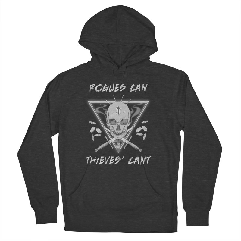 Thieves' Cant - B&W Men's Pullover Hoody by Stirvino Lady's Artist Shop