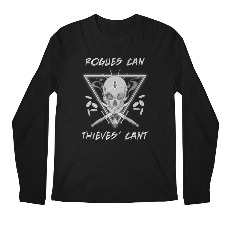 Thieves' Cant - B&W Men's Regular Longsleeve T-Shirt by Stirvino Lady's Artist Shop