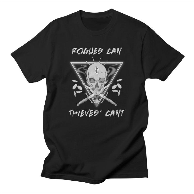 Thieves' Cant - B&W Men's Regular T-Shirt by Stirvino Lady's Artist Shop