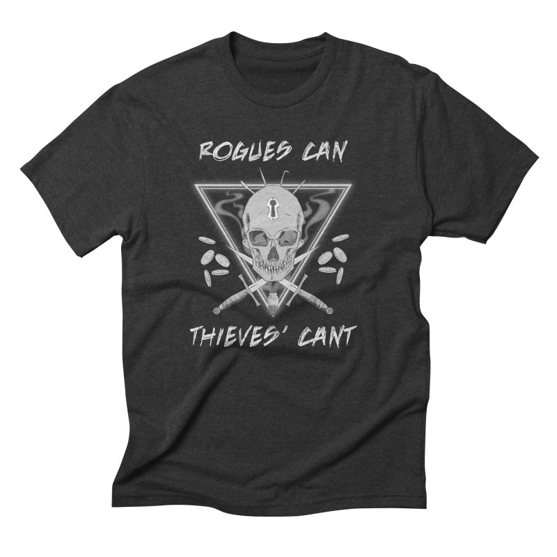 Thieves' Cant - B&W Men's Triblend T-Shirt by Stirvino Lady's Artist Shop