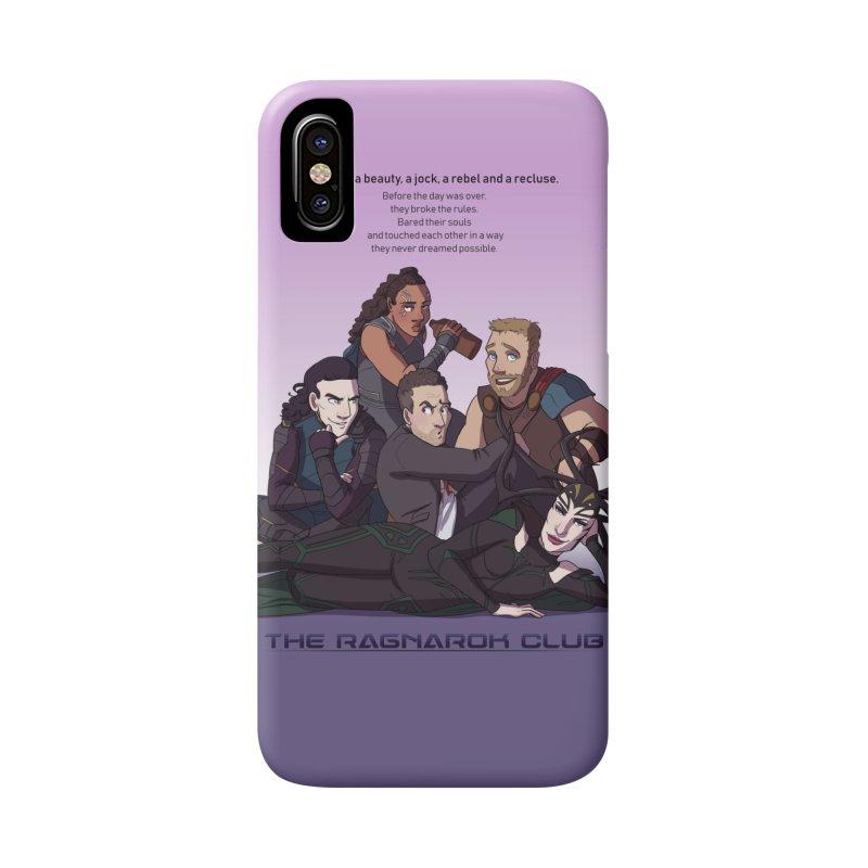 The Ragnarok Club Accessories Phone Case by Stirvino Lady's Artist Shop
