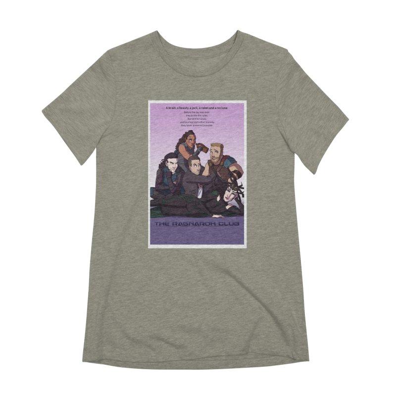 The Ragnarok Club Women's Extra Soft T-Shirt by Stirvino Lady's Artist Shop