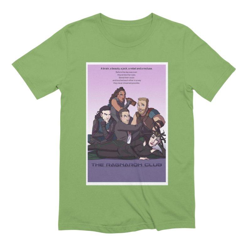 The Ragnarok Club Men's Extra Soft T-Shirt by Stirvino Lady's Artist Shop
