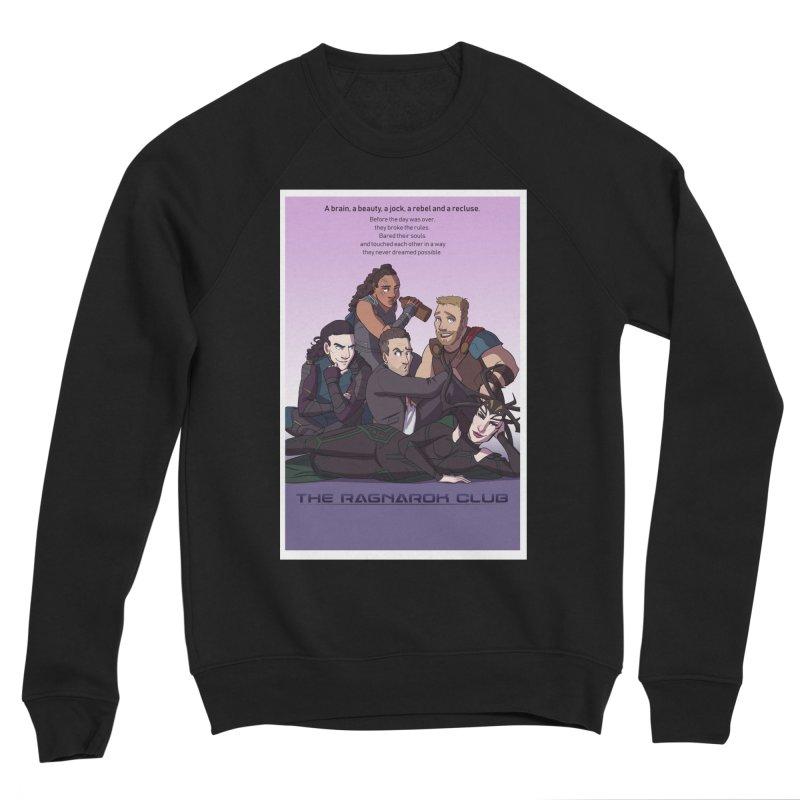The Ragnarok Club Men's Sponge Fleece Sweatshirt by Stirvino Lady's Artist Shop