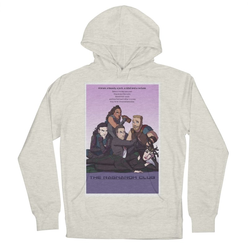 The Ragnarok Club Women's French Terry Pullover Hoody by Stirvino Lady's Artist Shop