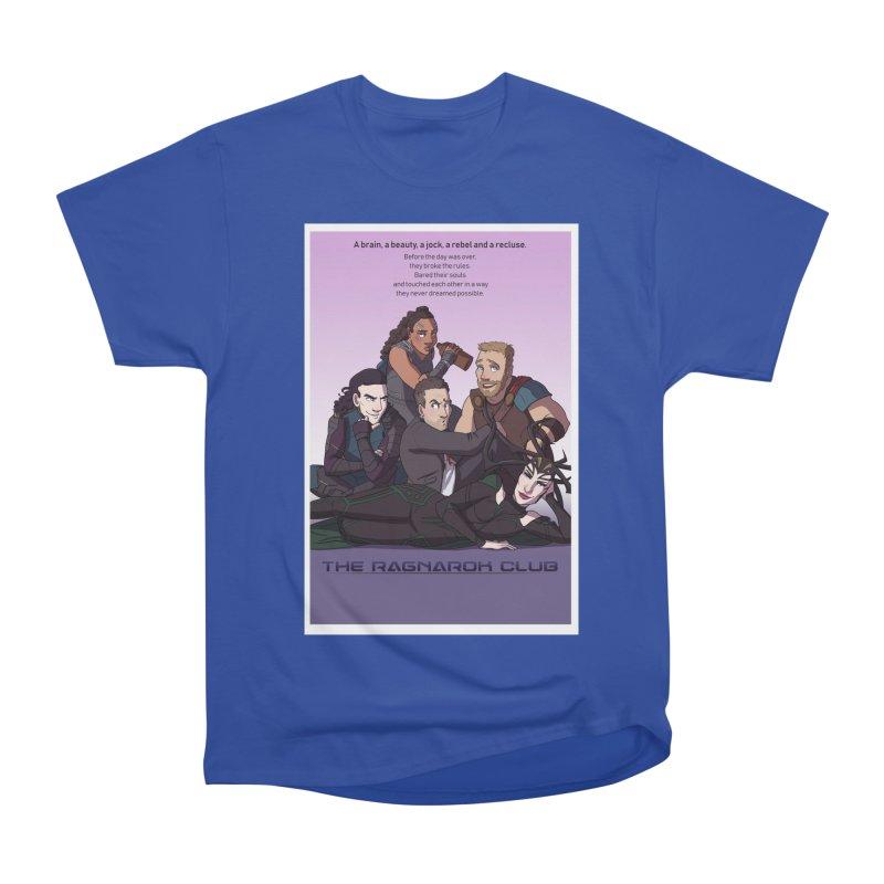 The Ragnarok Club Women's Heavyweight Unisex T-Shirt by Stirvino Lady's Artist Shop