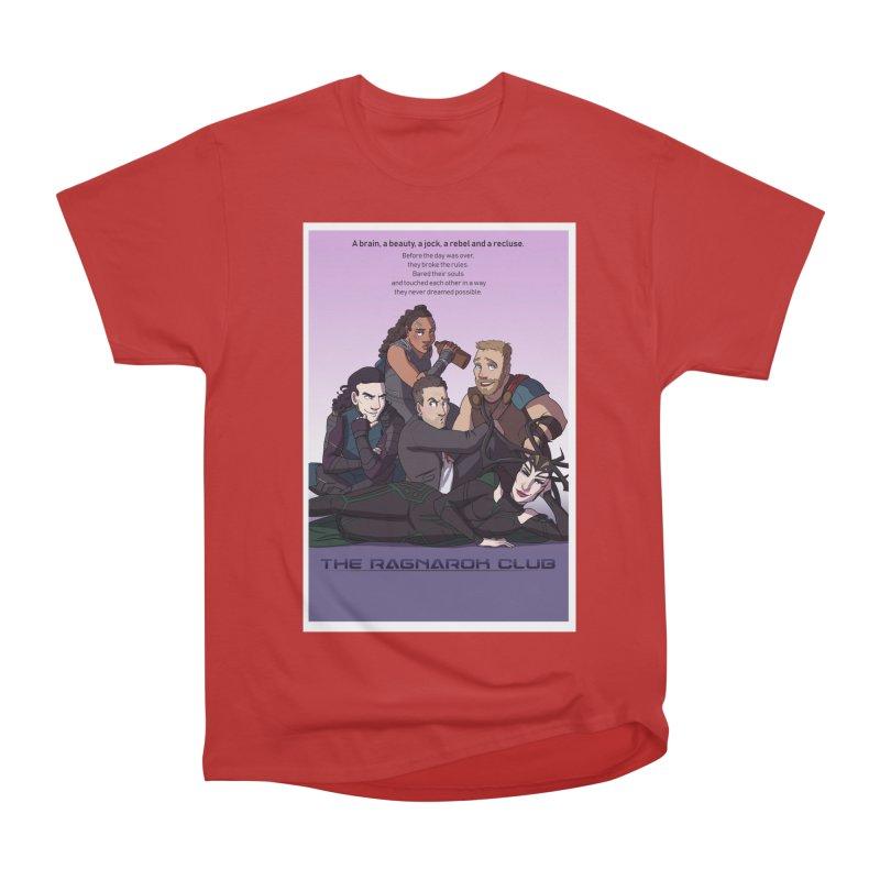 The Ragnarok Club Men's Heavyweight T-Shirt by Stirvino Lady's Artist Shop