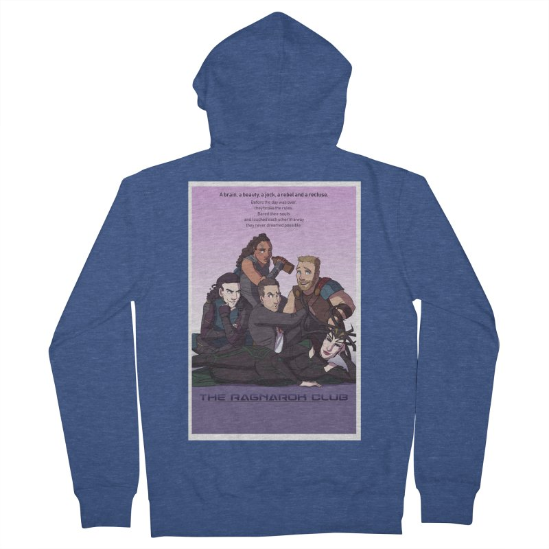 The Ragnarok Club Women's French Terry Zip-Up Hoody by Stirvino Lady's Artist Shop