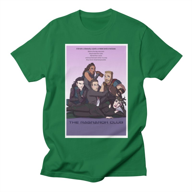 The Ragnarok Club Men's Regular T-Shirt by Stirvino Lady's Artist Shop