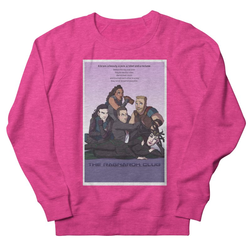 The Ragnarok Club Women's French Terry Sweatshirt by Stirvino Lady's Artist Shop