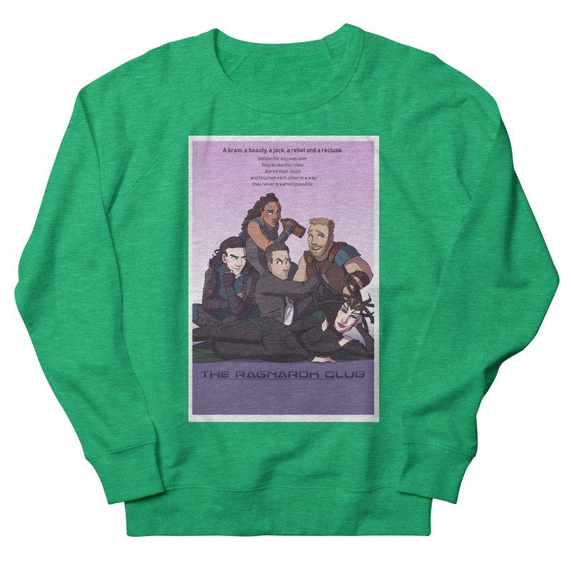 The Ragnarok Club Men's French Terry Sweatshirt by Stirvino Lady's Artist Shop