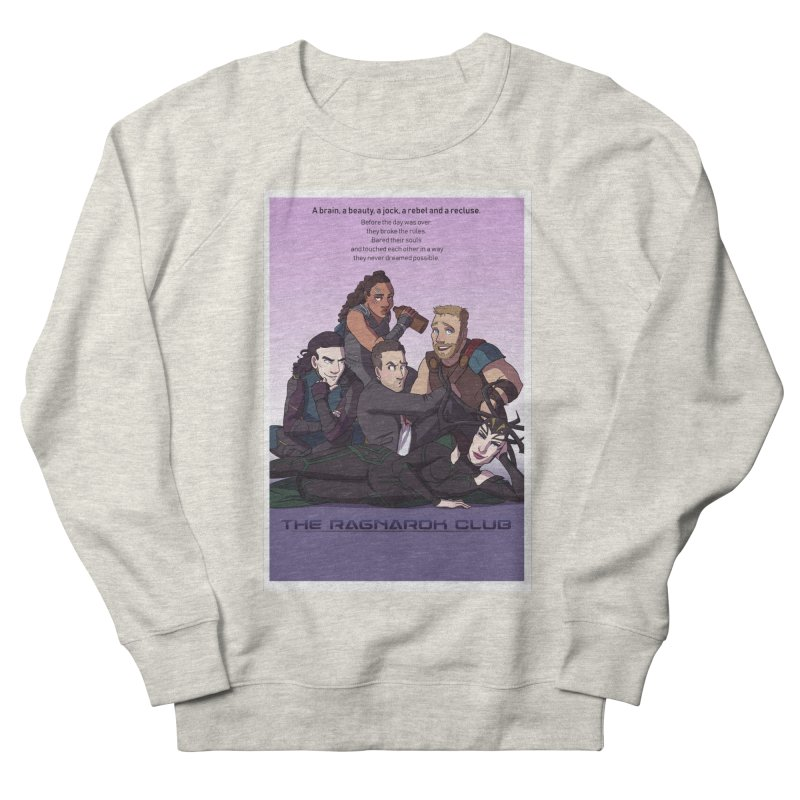 The Ragnarok Club Men's French Terry Sweatshirt by Stirvino Lady's Artist Shop