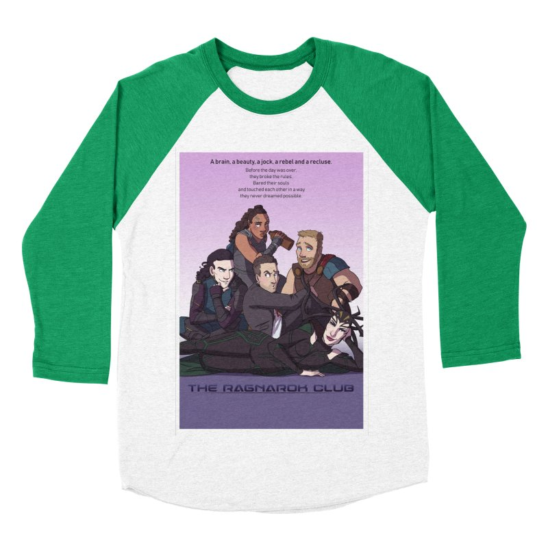 The Ragnarok Club Women's Baseball Triblend Longsleeve T-Shirt by Stirvino Lady's Artist Shop