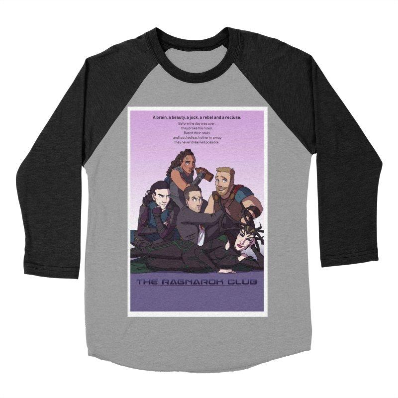 The Ragnarok Club Men's Baseball Triblend Longsleeve T-Shirt by Stirvino Lady's Artist Shop