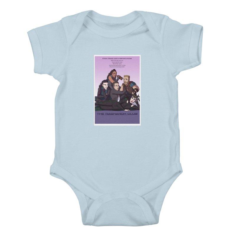The Ragnarok Club Kids Baby Bodysuit by Stirvino Lady's Artist Shop