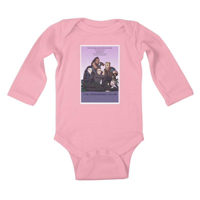The Ragnarok Club Kids Baby Longsleeve Bodysuit by Stirvino Lady's Artist Shop