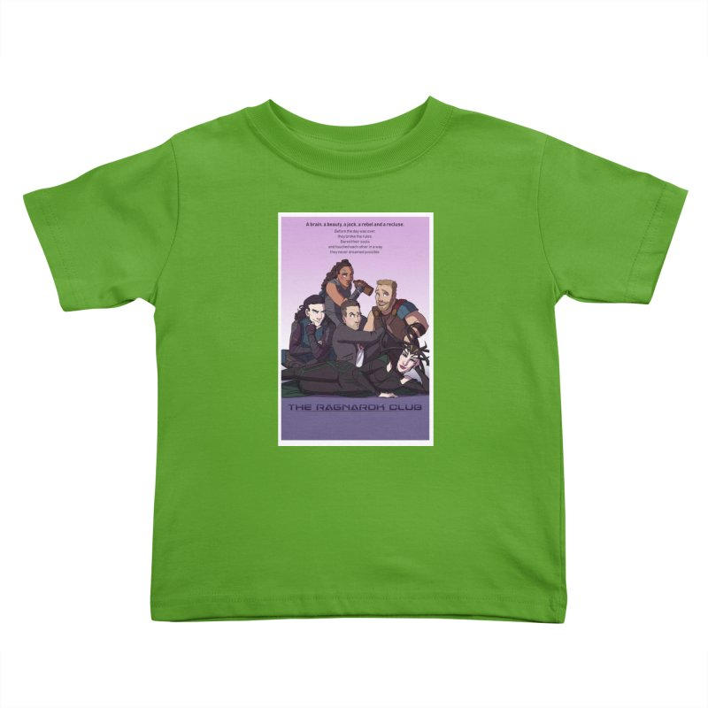 The Ragnarok Club Kids Toddler T-Shirt by Stirvino Lady's Artist Shop