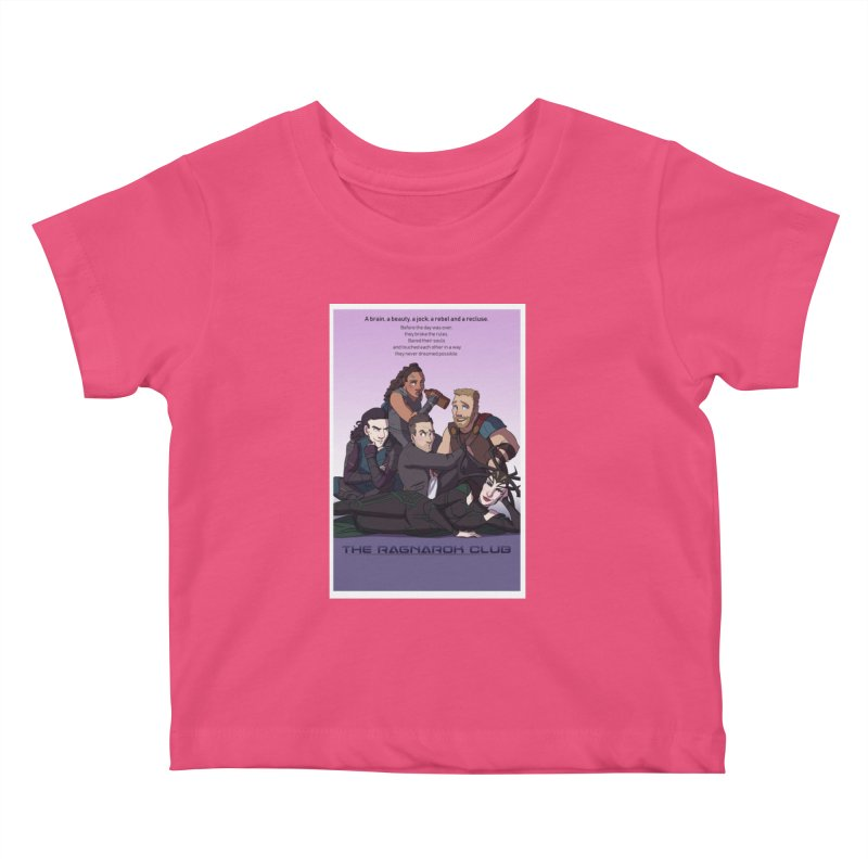 The Ragnarok Club Kids Baby T-Shirt by Stirvino Lady's Artist Shop