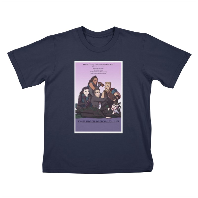 The Ragnarok Club Kids T-Shirt by Stirvino Lady's Artist Shop