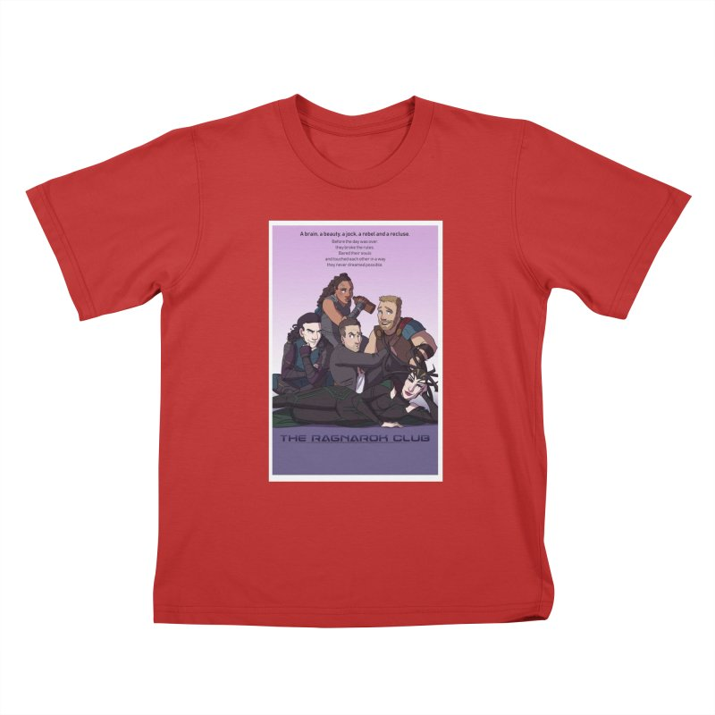 The Ragnarok Club Kids T-Shirt by Stirvino Lady's Artist Shop