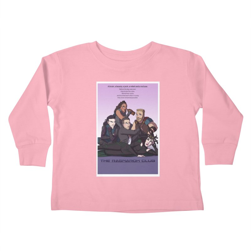 The Ragnarok Club Kids Toddler Longsleeve T-Shirt by Stirvino Lady's Artist Shop