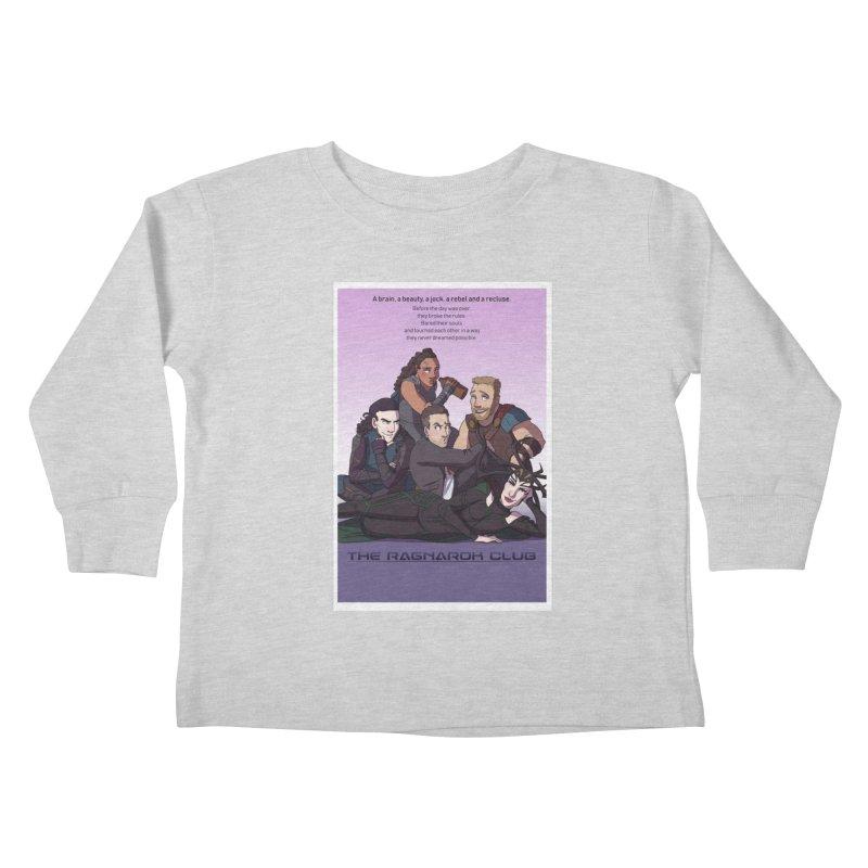 The Ragnarok Club Kids Toddler Longsleeve T-Shirt by Stirvino Lady's Artist Shop