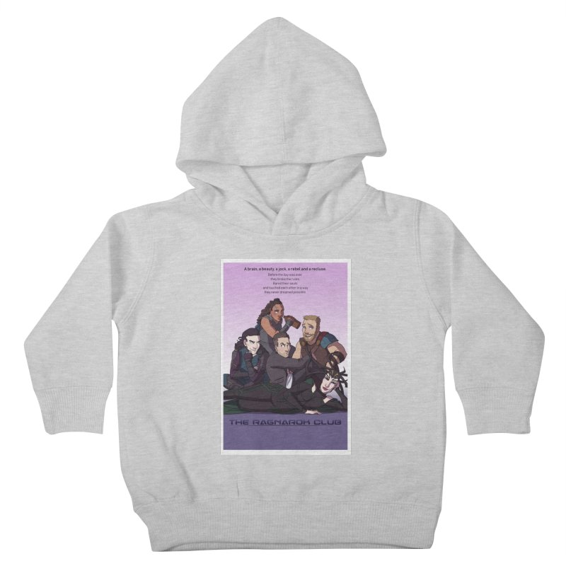 The Ragnarok Club Kids Toddler Pullover Hoody by Stirvino Lady's Artist Shop