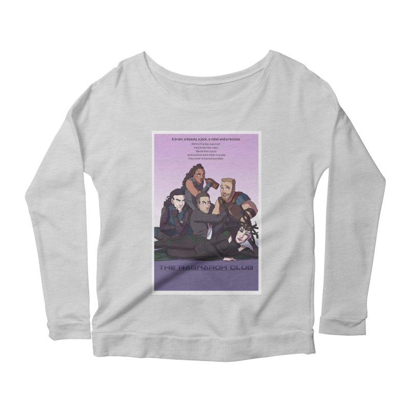 The Ragnarok Club Women's Scoop Neck Longsleeve T-Shirt by Stirvino Lady's Artist Shop
