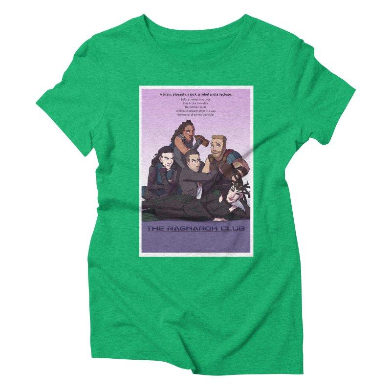 The Ragnarok Club Women's T-Shirt by Stirvino Lady's Artist Shop