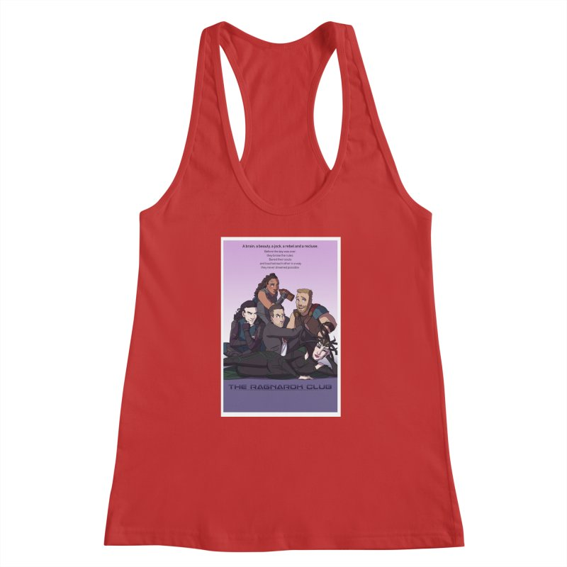 The Ragnarok Club Women's Racerback Tank by Stirvino Lady's Artist Shop