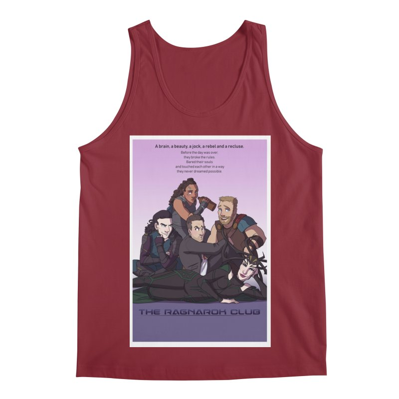 The Ragnarok Club Men's Tank by Stirvino Lady's Artist Shop