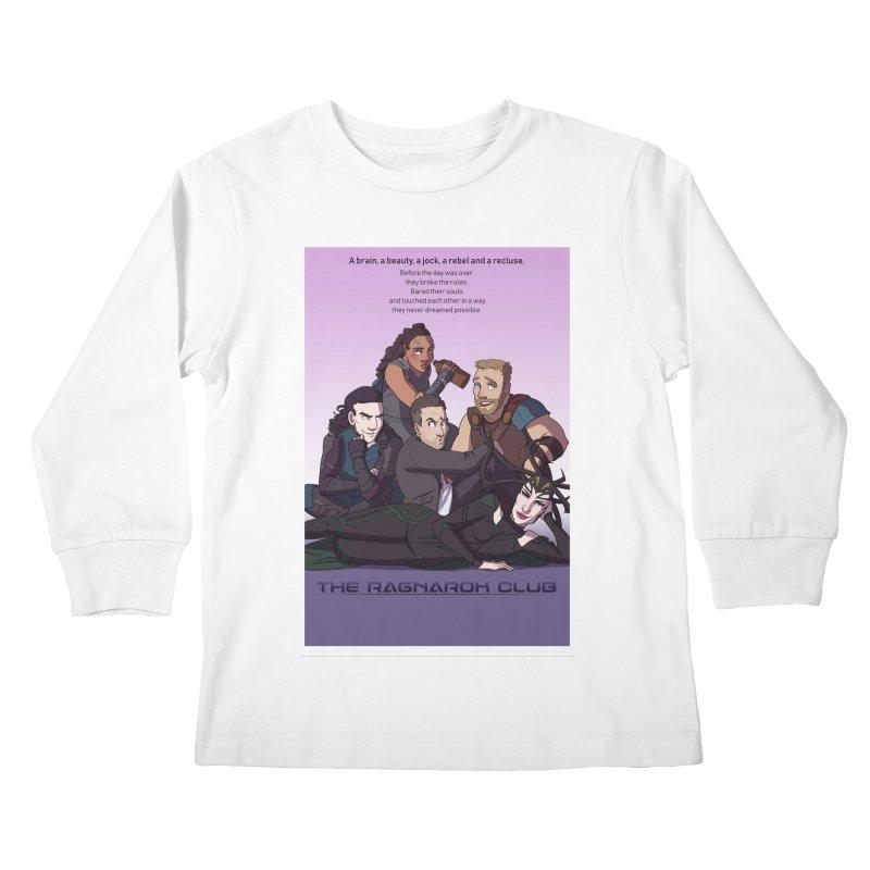 The Ragnarok Club Kids Longsleeve T-Shirt by Stirvino Lady's Artist Shop